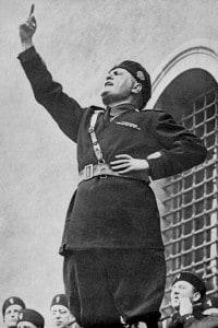 Foto di Benito Mussolini