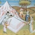 Gengis Khan sul letto di morte