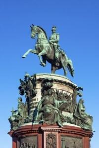 Statua raffigurante Nicola I