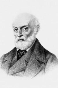 Litografia dello scrittore Giovan Pietro Vieusseux (1779 – 1863)