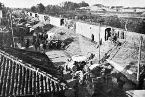 Battaglia di Caporetto del 1917: una linea di sbarramento protegge la ritirata italiana