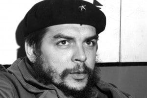 """Il comandante Ernesto """" Che """" Guevara in una immagine del Gennaio 1965"""