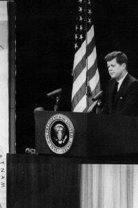 Conferenza stampa di Kennedy sul Vietnam del Nord il 23 marzo del 1961
