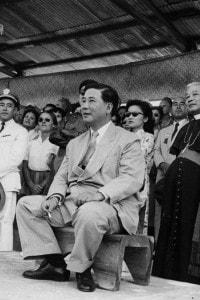 Ngo Dinh Diem nel 1957