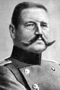 Paul von Hindenburg, presidente della Germania dal 1925 al 1934