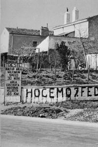 Marzo 1946: graffiti dei sostenitori di Tito a Trieste