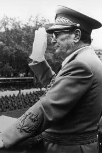 Foto di Josip Broz: capo dell'Esercito popolare di liberazione della Jugoslavia nel 1942