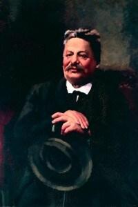 Ritratto di Giovanni Pascoli