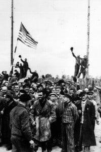 Liberazione dei prigionieri dai campi di concentramento