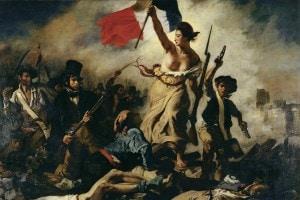 La libertà che guida il popolo, di Eugene Delacroix