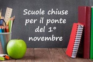 Ponte 1 novembre 2016 scuola