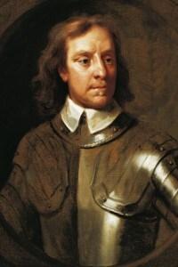 Oliver Cromwell in un ritratto di Samuel Cooper