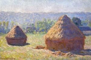 """""""Covoni, fine dell'estate"""" di Claude Monet (1891)"""
