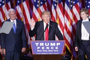 Il neo presidente USA Donald Trump