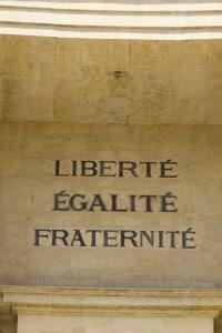 Liberté, Égalité, Fraternité: motto nazionale francese