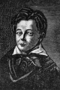 Ritratto di Gustave Flaubert, autore di Madame Bovary