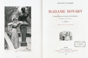 Madame Bovary, copertina di un'edizione del 1905