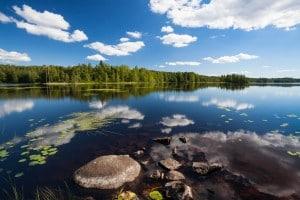 Scorcio della Scandinavia, terra di origine dei Longobardi