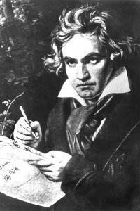 Ritratto di Ludwig van Beethoven