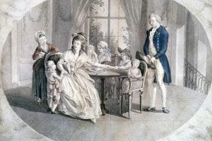 """Illustrazione per l'edizione del 1774 de """"I dolori del giovane Werther"""", scritto da Johann Wolfgang von Goethe"""