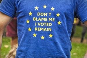 Cittadini inglesi contro la Brexit