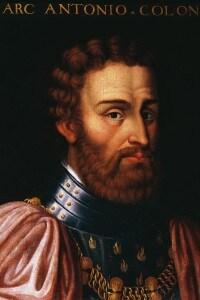 Ritratto di Marcantonio Colonna