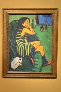 Uno dei più famosi dipinti di Ernst Ludwig Kirchner