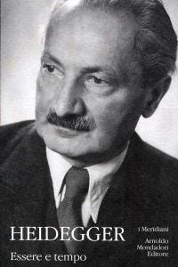 """Copertina di """"Essere e Tempo"""" di Martin Heidegger"""