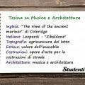 Tesina di maturità per geometri su musica e architettura