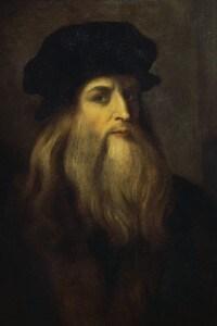 Ritratto di Leonardo da Vinci, XVII secolo, artista anonimo