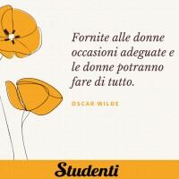 Frasi festa delle donne - Oscar Wilde