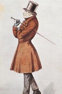 Søren Kierkegaard, ritratto con acquerello