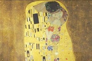 Il bacio, Gustav Klimt
