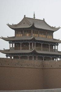 La fortezza Jiayuguan