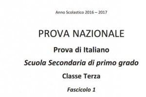 Domande test Invalsi italiano terza media 2017