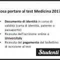 Test Medicina 2017: cosa portare, divieti e regole