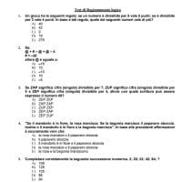 Test ingresso Medicina 1-5