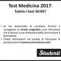 Medicina 2017: denuncia le irregolarità per fare ricorso