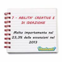 Abilità creative e di ideazione