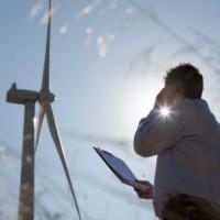 Ingegneri e supervisori turbine eoliche