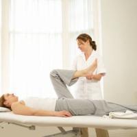 Il fisioterapista di una squadra