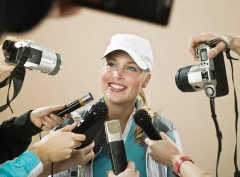 Il giornalista o il fotografo sportivo