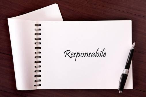 1° posto: responsabile