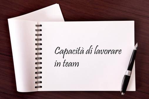 9° posto: capacità di lavorare in team