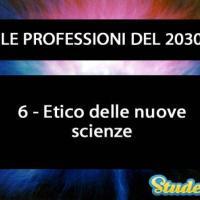 Etico delle nuove scienze