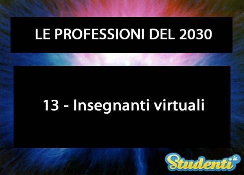 Insegnanti virtuali