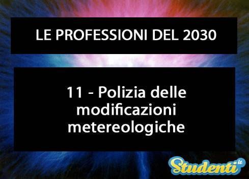 Polizia metereologica