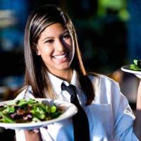 In città, al mare o all'estero puoi servire ai tavoli