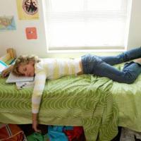 Non studiate sul letto