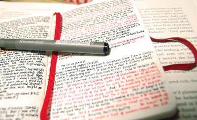 Prendere appunti e schematizzare